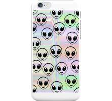 Trippy Alien  iPhone Case/Skin