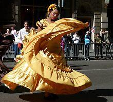 St Columbus Day Parade by Trish Meyer