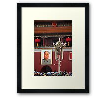 The Chairman Framed Print