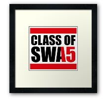 Class Of Swag 2015 Framed Print