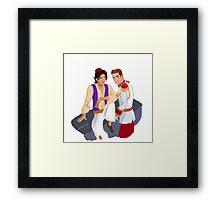 Ziam Princes Framed Print
