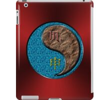 Scorpio & Monkey Yang Earth iPad Case/Skin