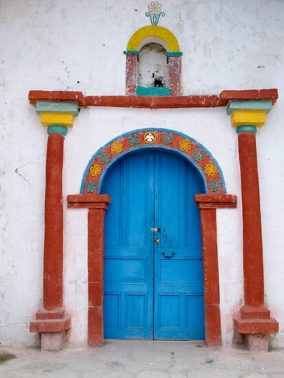 An Inviting Entry - Chile by Lisa Germany