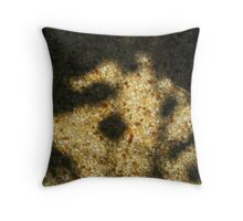 Shadow On Pavement Throw Pillow