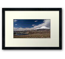 Volcán Parinacota - Chile Framed Print