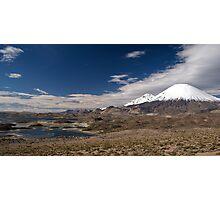 Volcán Parinacota - Chile Photographic Print
