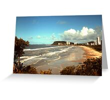 Burleigh Beach Greeting Card
