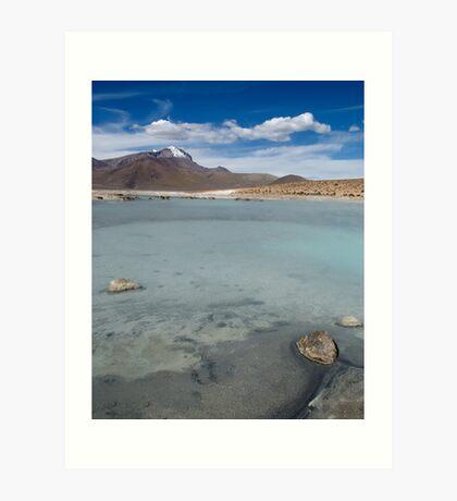 Salar de Surire - Chile Art Print