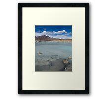 Salar de Surire - Chile Framed Print
