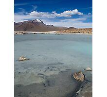 Salar de Surire - Chile Photographic Print