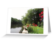 Summertime on the Concord River Greeting Card