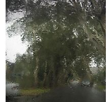 Through The Wet Windscreen Photographic Print
