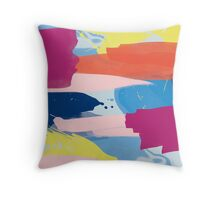 Multicoloured Storm Throw Pillow
