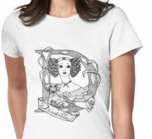 D is for Drusilla Womens Fitted T-Shirt