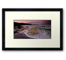 Mayan Blood at Dusk Framed Print