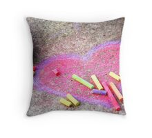 Expression of a Childs Love Throw Pillow