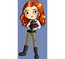 Amy Pond Chibi Photographic Print