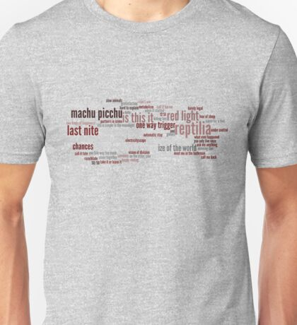 stroked songs cloud Unisex T-Shirt