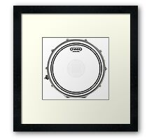 Evans Level 360 Snare Head Framed Print