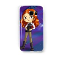 Amy Pond Chibi Samsung Galaxy Case/Skin