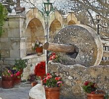 The Old Olive Press - Fyti, Cyprus by Beth A