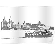 Ferry across the Mersey Poster