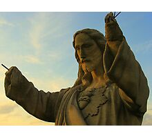 Jesus Rebarhands Photographic Print