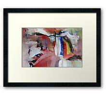 Wounded Knee Framed Print