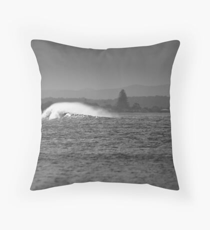 Of Wind and Wave Throw Pillow