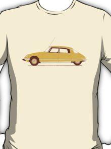 Yellow Ride of the Retro Future T-Shirt
