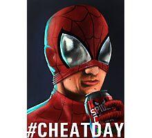 Spiderman - #CHEATDAY Photographic Print