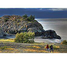 Beluga Point Photographic Print