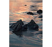 Sunset Islands. Photographic Print
