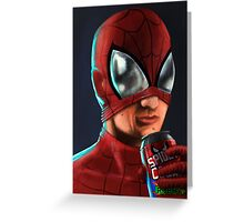Spiderman - Spidey Cola Greeting Card