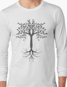 tree spot Long Sleeve T-Shirt