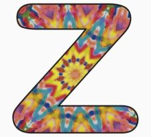 Letter Series - z (kaleidoscope) Kids Clothes