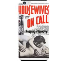 Housewives on Call Retro 50's Movie iPhone Case/Skin