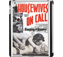Housewives on Call Retro 50's Movie iPad Case/Skin