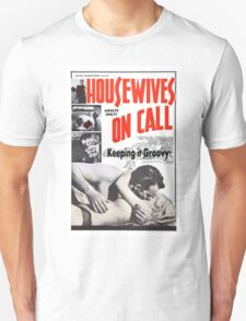 Housewives on Call Retro 50's Movie T-Shirt