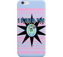 I Killed My Nano Baby iPhone Case/Skin