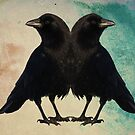 Twin Crows by gothicolors