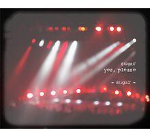 MAROON MUSIC - Sugar Photographic Print