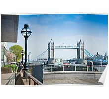 Tower Bridge Lunchtime View Poster