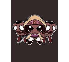 Powerpuff Michonne Photographic Print