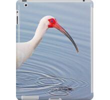Wading American White Ibis iPad Case/Skin
