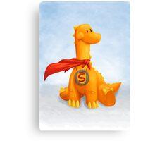 Super Dino Canvas Print