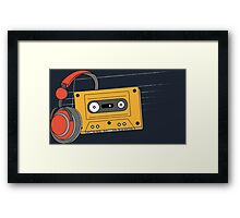 The Mixed Tape Framed Print