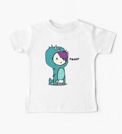 Dinosaur goes Rawr! Baby Tee