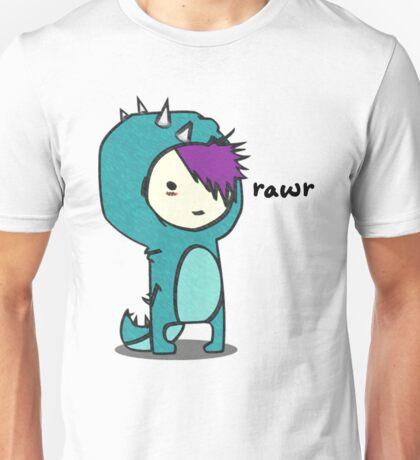 Dinosaur goes Rawr! Unisex T-Shirt