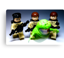 They ain't afraid of no ghost! Canvas Print